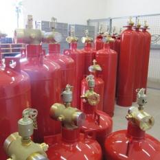 системы газового пожаротушения фото