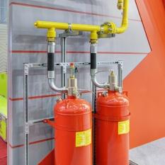 Система газового пожаротушения в Москве