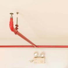 Установка спринклерной системы пожаротушения