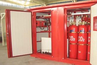 Испытание системы газового пожаротушения в Москве