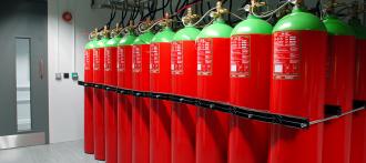 Газовое пожаротушение для музеев