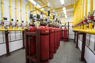 системы пожаротушения в серверных