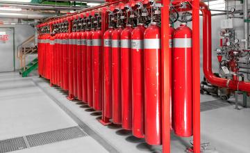 Монтаж газового пожаротушения в Москве