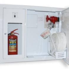 Монтаж пожарных шкафов